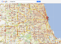 Chicago food search